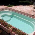 La fibre de verre pour la piscine coque