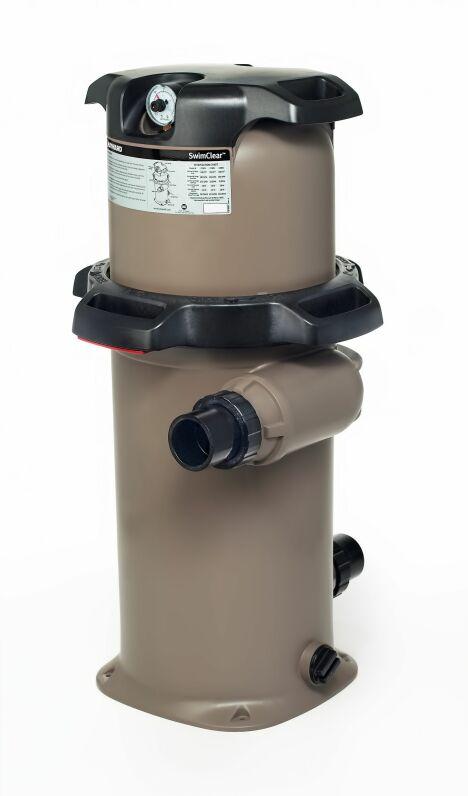 """Le filtre à élément SwimClear offre une haute performance pour une utilisation simple.<span class=""""normal italic petit"""">© Hayward Pool Europe</span>"""