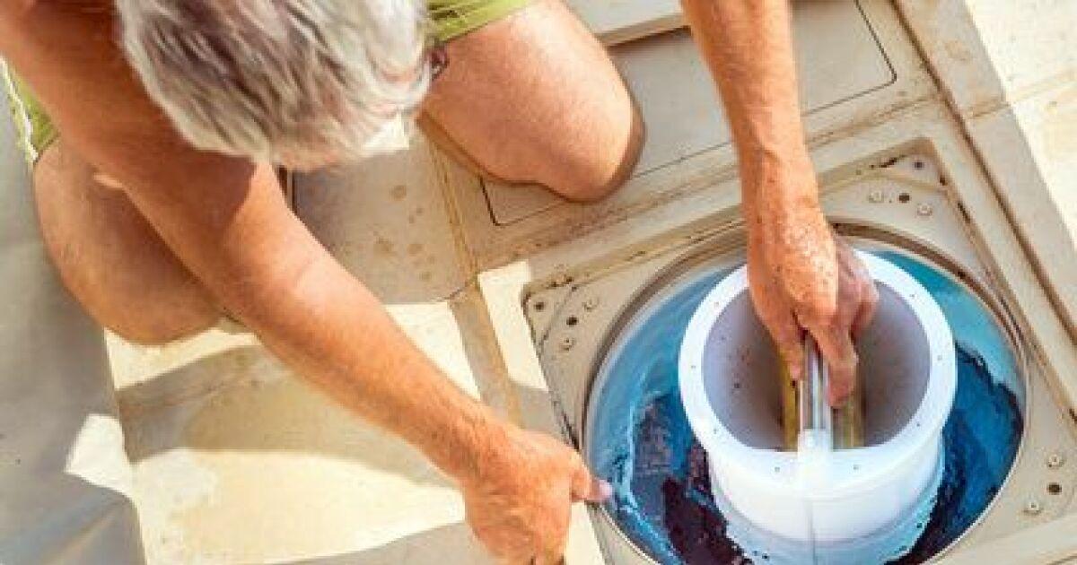 Filtre de piscine jetable for Poche filtrante piscine