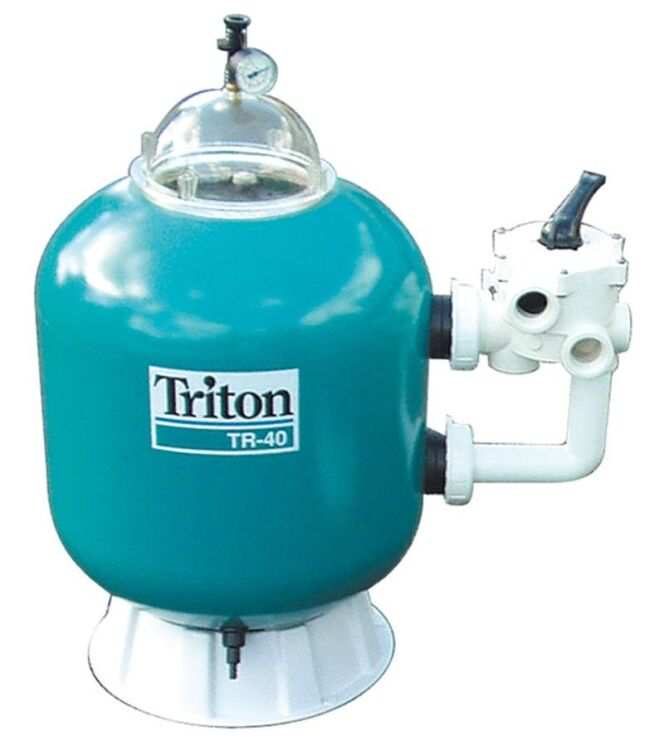 "Filtre à sable<span class=""normal italic petit"">© Triton</span>"