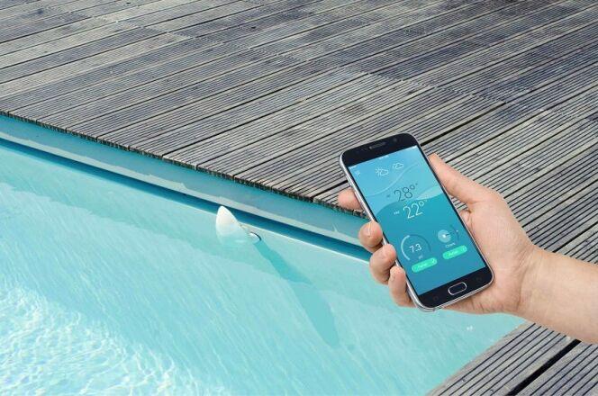 Flipr, l'analyseur de piscine connecté pour faciliter l'entretien