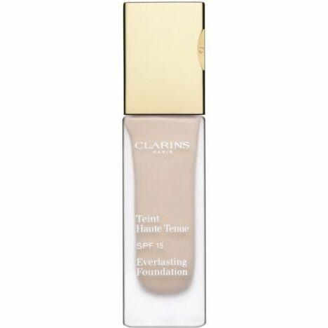 """Le fond de teint znti-UV Haute Tenue de Clarins aide à lutter efficacement contre le vieillissement de la peau dû aux rayons du soleil<span class=""""normal italic petit"""">© Clarins</span>"""
