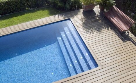 Formes et tailles de piscine