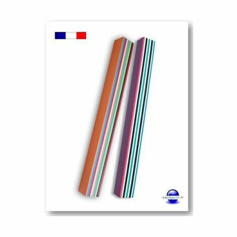 Frite piscine multicolore par Aquagyms