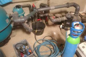 mise en pression canalisations avec gaz traceur