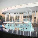 Futur centre aquatique à Denain