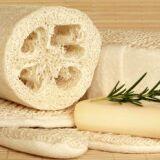 Le gant loofah pour le hammam : un gant en fibres végétales