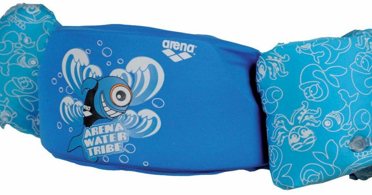 Gilet s curit enfant brassard swim mate jumper arena 2012 for Gilet piscine bebe decathlon