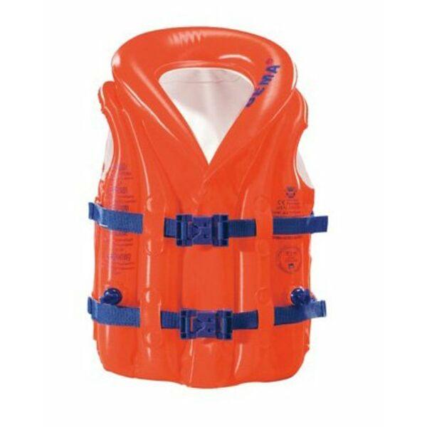 Gilet de natation gonflable enfants piscine b ma for Gilet piscine bebe decathlon