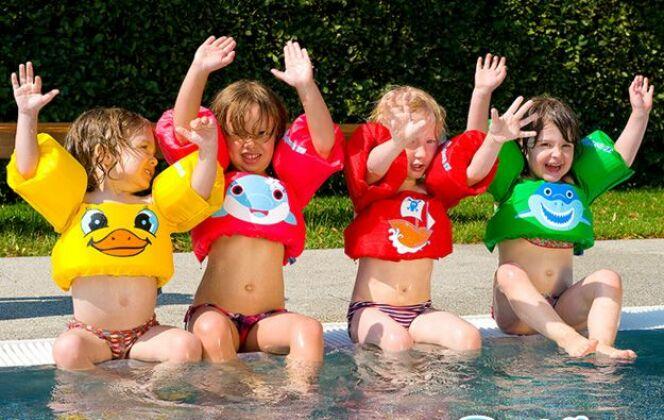Gilets-bouées pour enfants, par Puddle Jump © Puddle Jump