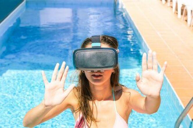 Grâce à la réalité virtuelle, vous pourrez maintenant visualiser votre future piscine.