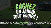 Grand Jeu Concours : Raviday équipe votre jardin
