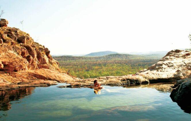 Gunlom Plunge Pool, Australia © kakadunationalparkaustralia