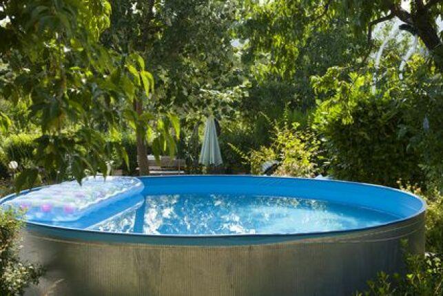 Habillage d'une piscine tubulaire