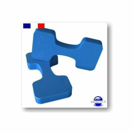 """Haltères en mousse d'Aquagyms<span class=""""normal italic petit"""">© Aquagyms</span>"""