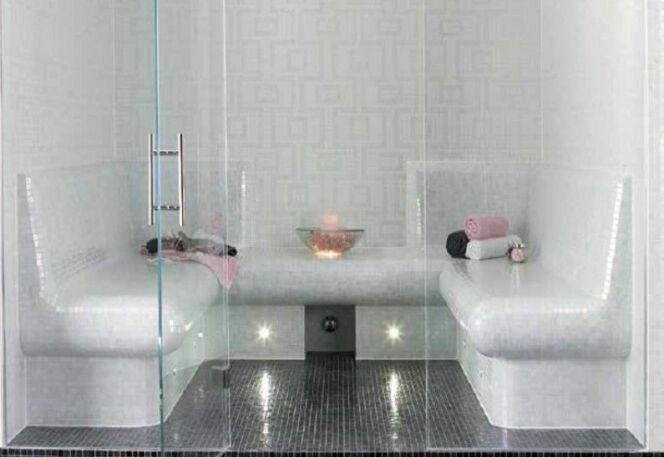 les plus beaux hammams en photos hammam pr t carreler photo 4. Black Bedroom Furniture Sets. Home Design Ideas