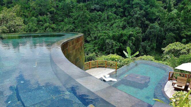 Hanging Garden Ubud à Bali