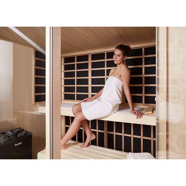 Visage vita par helo sauna ne pas avoir choisir entre un sauna traditionn - Difference entre sauna infrarouge et traditionnel ...