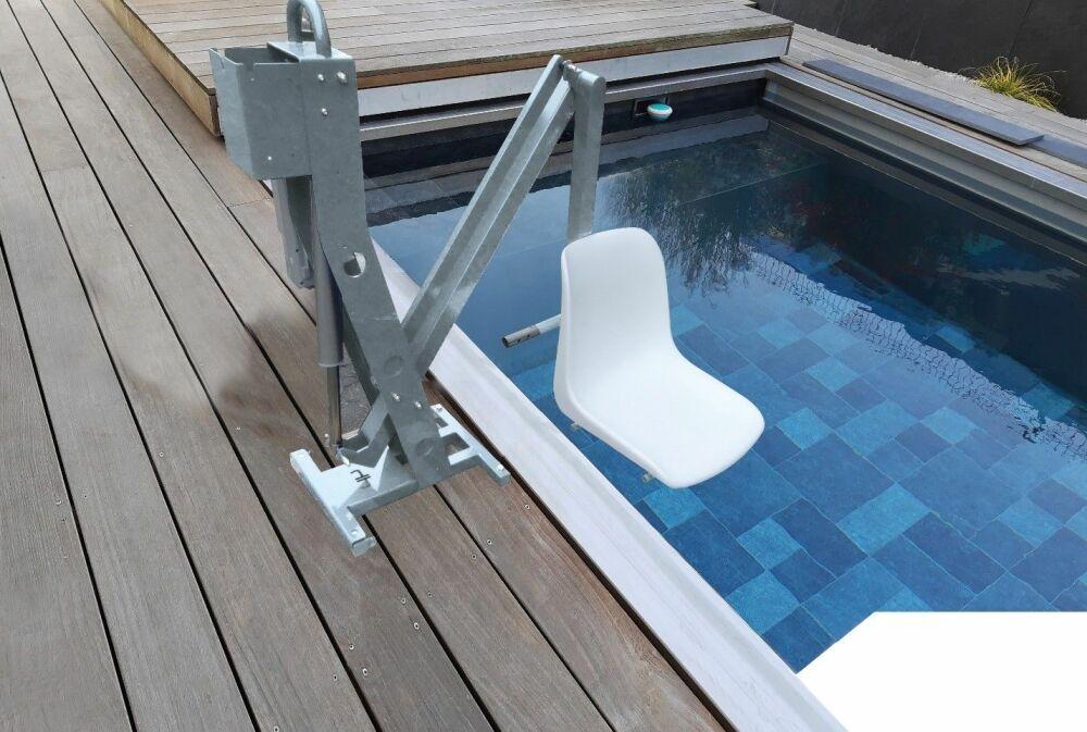 Hexagone présente Unirock : l'ascenseur pour piscines privées© Hexagone Manufacture