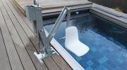 Hexagone présente Unirock : l'ascenseur pour piscines privées