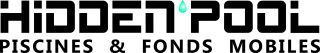 Logo Hidden-Pool, fonds mobiles pour piscines