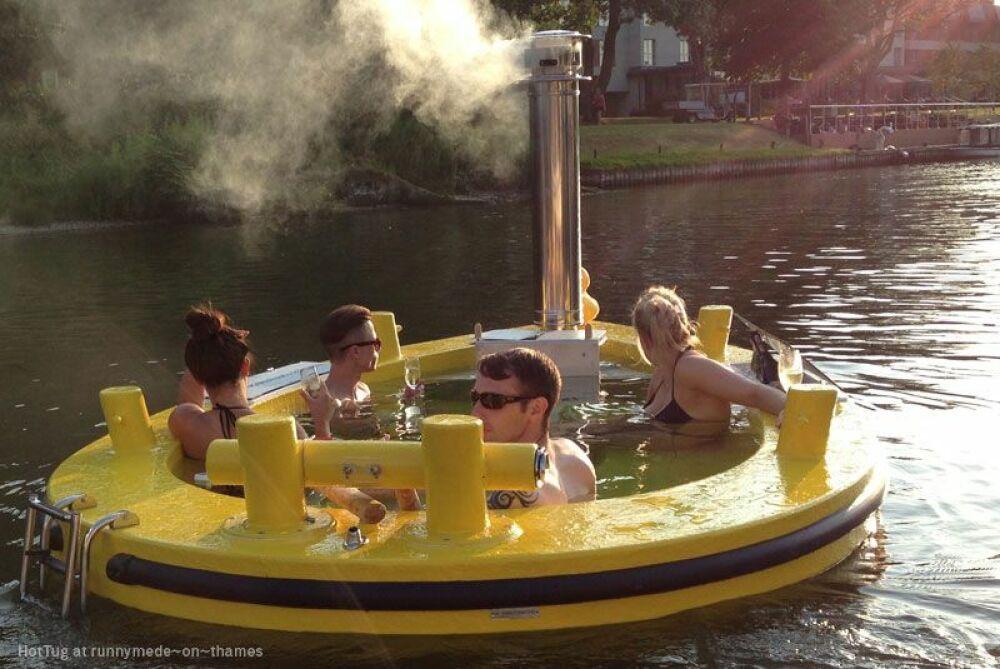 """Hot Tug"" est la contraction de ""hot tub"" et ""tug boat""© Hot Tug"