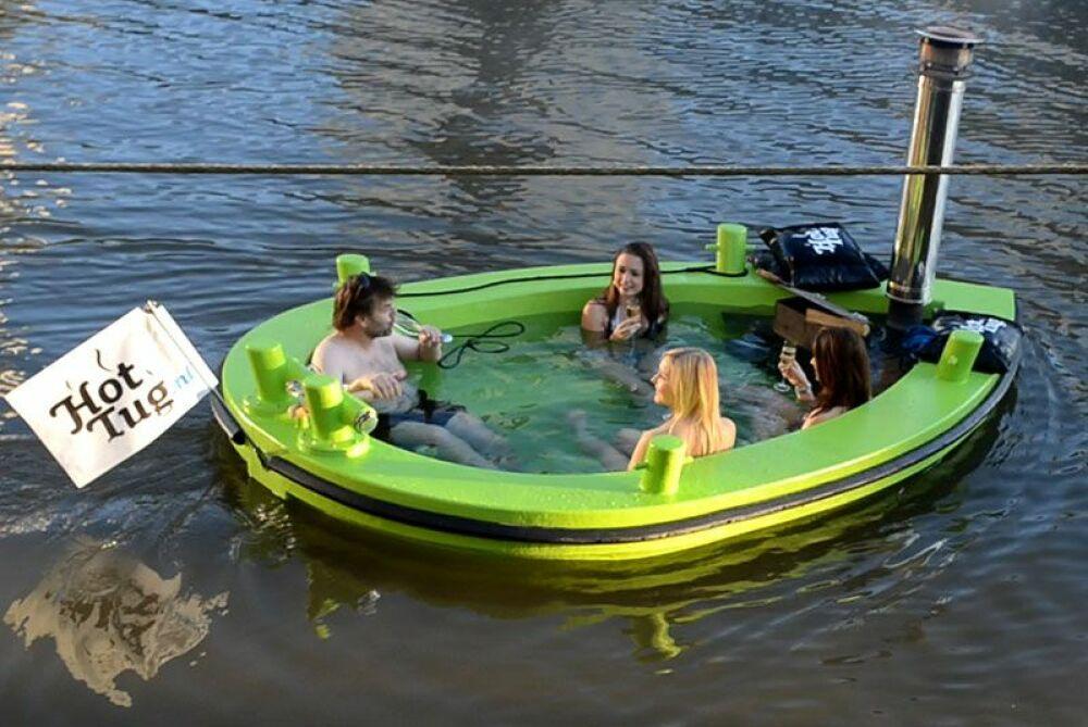 Hot Tug : tout l'été sur le Regent's Canal de Londres© Hot Tug