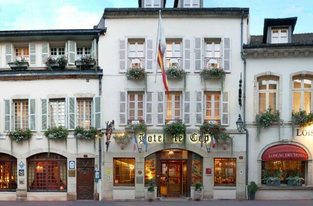 Hôtel le Cep, à Beaune (Bourgogne)