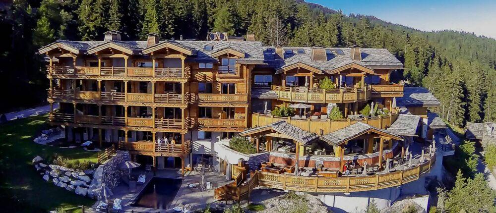 Hôtel le Crans, dans les Alpes Suisses© Hôtel le Crans