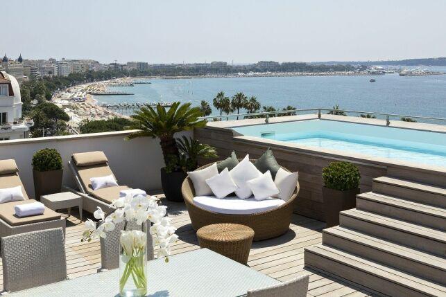 Hôtel Barrière Le Majestic, à Cannes