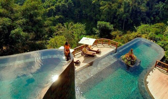 Hotel Ubud Hanging Gardens à Bali