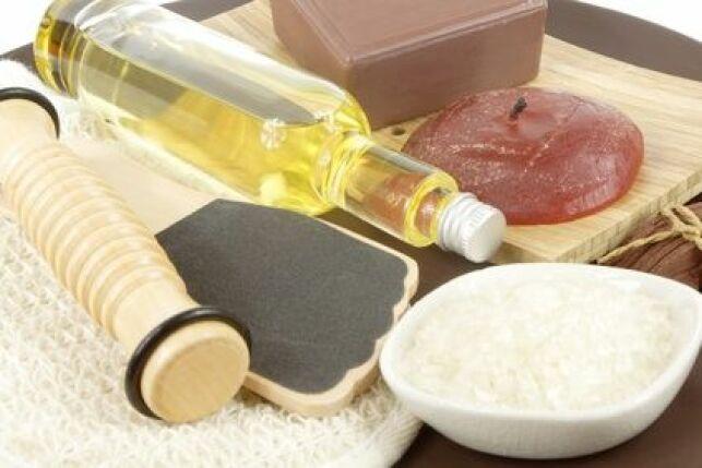 L'huile d'argan est très utilisée pour les massages à la fin d'une séance de hammam.