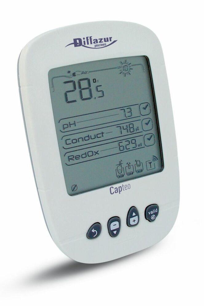 Température, pH de l'eau et plus encore sont réglables avec Hydrocapt Pilot.