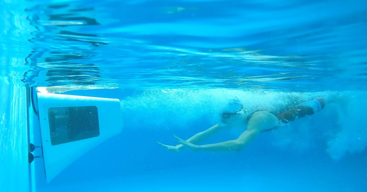 Hydrostar test et adopt par l quipe nationale de natation for Accessoire piscine ales