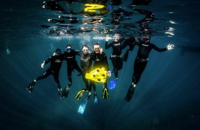 IBubble, le drone sous-marin autonome