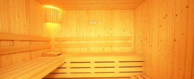 Le sauna du club Idéal Forme