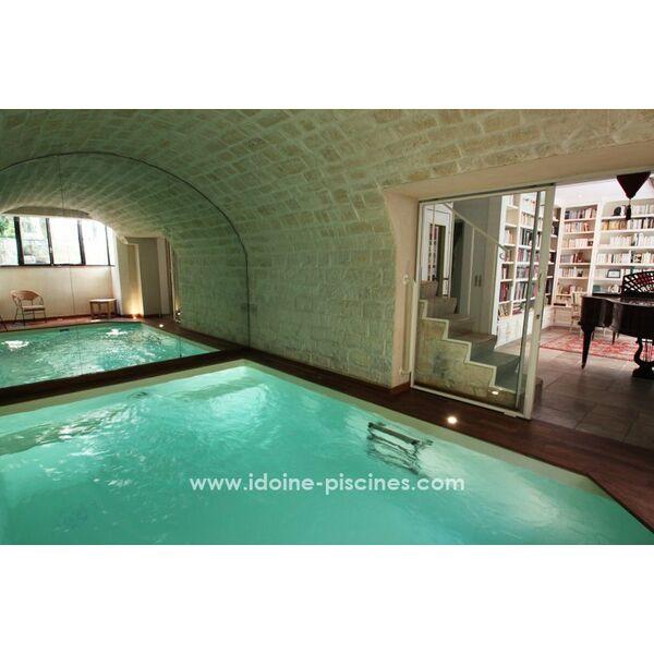 Idoine piscines paris pisciniste paris 75 for Piscine sauna paris