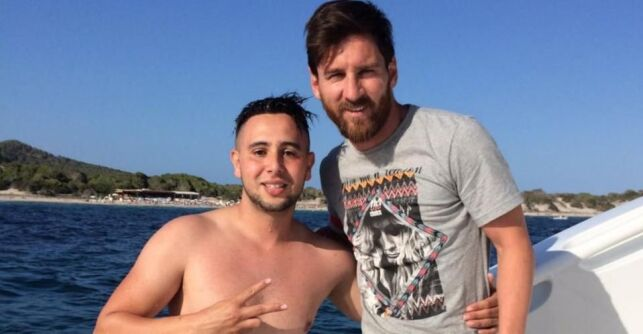 Lionel Messi et Suli à Ibiza !