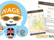 En savoir plus sur l'appli mobile Coach Nage