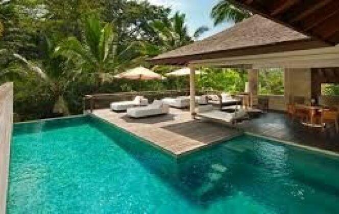 Aménagement plage piscine DR