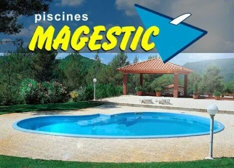 "Piscines MAGESTIC 81290 LABRUGUIERE  <span class=""normal italic petit"">DR</span>"