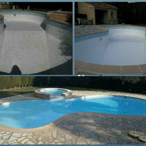 Rénovation cas d'osmose piscine et spa