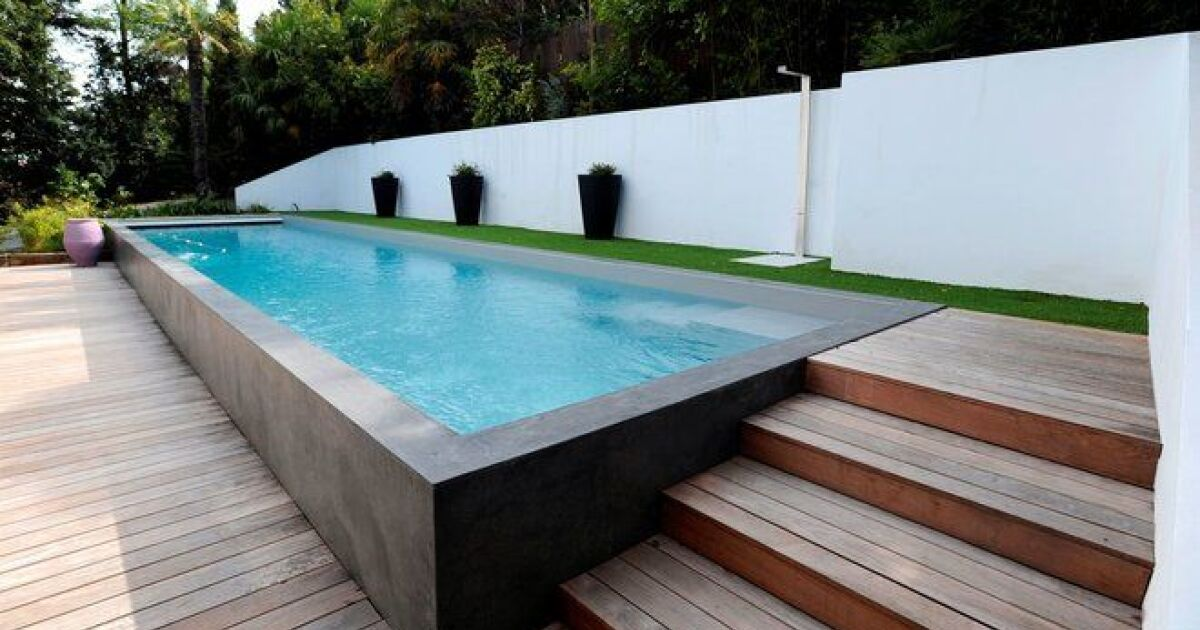 imp t sur les piscines semi enterr es. Black Bedroom Furniture Sets. Home Design Ideas