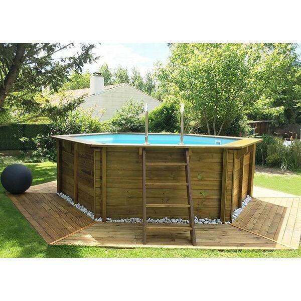 piscine hors sol ovale Roncq