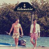 Boardshorts imprimés homme Retromarine été 2013