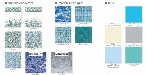 """Imprimés modernes, classiques et unis Albon<span class=""""normal italic petit"""">© Albon</span>"""