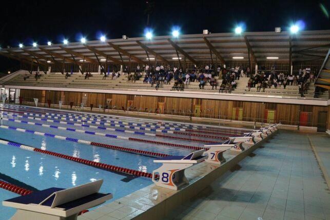 Inauguration du Centre Aquatique de Cayenne