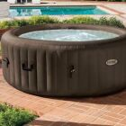 Installation d'un spa gonflable