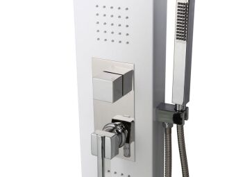Installer une colonne de douche hydromassante : facile à installer et économique