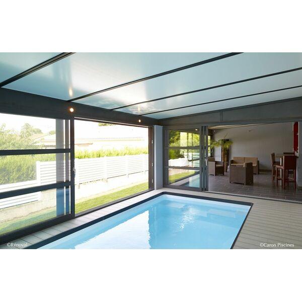 une veranda cool grand espace lumineux veranda aluminium with une veranda simple tonnant prix. Black Bedroom Furniture Sets. Home Design Ideas